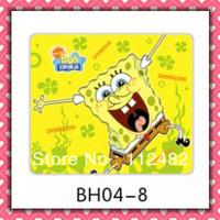 Free Shipping SpongeBob SquarePants laptop mouse pad 10pcs/lot coumputer mouse mat