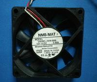 Free Shipping  DC12V 0.65A NMB 2806KL-04W-B89 7015 7CM CPU 70*70*15mm 3Pin Server Square CPU Cooling Fan