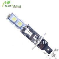 Free  shipping + wholesale + 60pcs/lot + Car fog light lamps H1 9 5050 LED SMD Bulbs White color