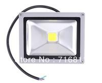 Free Shipping 20W 85-265V High Power Flash Landscape Lighting LED Wash Floodlight warm white/pure white 1 Year Warranty!