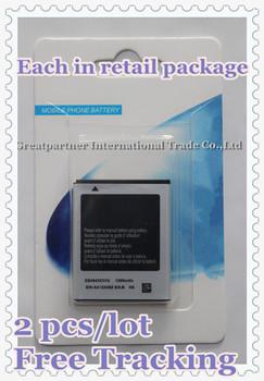 Free Shipping! 2 pcs/lot New 1200mAh EB494353VU Cellphone Battery for Samsung GALAXY MINI S5570 Dart T449 WAVE 525 578 723 575