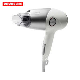 Free shipping POVOS high quality hair dryer professional PH8802 silent negative ion hair conditioner thermostat in stock
