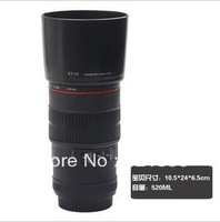 Free Shipping Simulation Lens Of A Single Lens Reflex 1:1 Cup Stainless Steel Vacuum Cups Creative Vacuum Flasks 520ML
