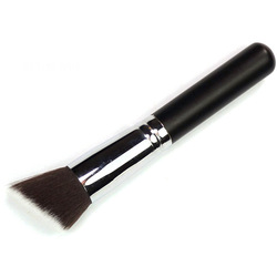 Black Flat Brushes Bevel Concealer Loose Paint Blush Powder Brush T0078(China (Mainland))