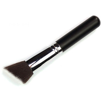 Black Flat Brushes Bevel Concealer Loose Paint Blush Powder Brush T0078