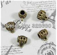 Free shipping- 50pcs/lot 10*8MM Diy accessory Antique bronze pendant Vintage accessories pendant
