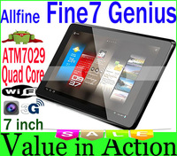7 inch Allfine Fine7 Genius Actions ATM7029 Quad Core Tablet PC 1GB RAM 8GB ROM Android 4.1 IPS 1024x768 Camera External 3G