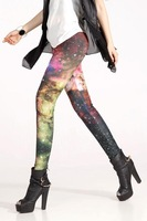 Sexy Fashion Painting The Milky Way Women Pants