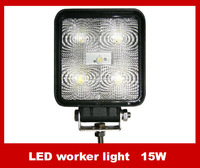 Factory direct LED 15W floodlight working lamp / off-road vehicle / spotlight / car lamps / truck lamps