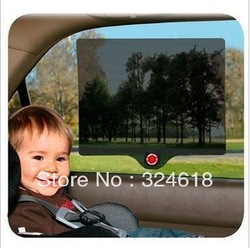 Uv-resistant rear window black-out cloth temperature sensing sunshade sticker film(China (Mainland))