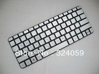 Freeshipping Tracking number NEW Russian RU Keyboard for HP MINI 210 210-1010NR 210-1040NR 210-1053NR Keyboard silver