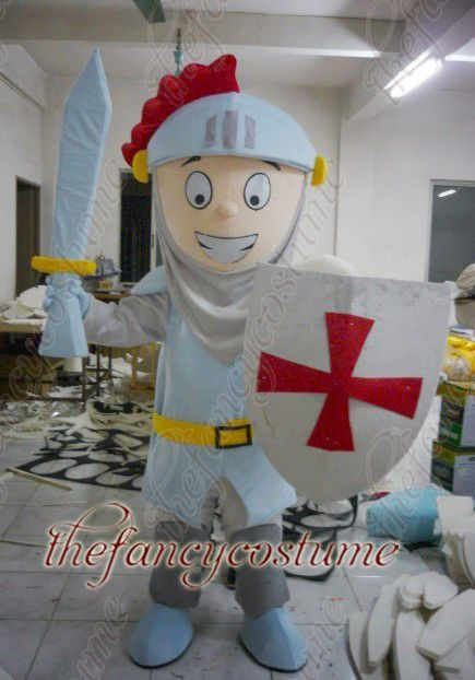 2148 Shield soldiers , hot sale, free ship , Mascot Costume, cartoon , Halloween cosplay Dress(China (Mainland))