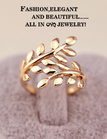 Cheap fashion Personalized Olive Branch Ring  For woman gift  Lovers knot ring Wedding Rings  Free shipping  summer 2013