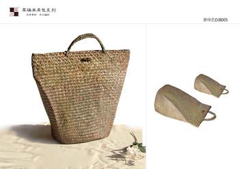 Furniture accessories handbag straw bag handbag