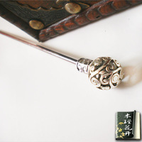 Hanfu vintage miao silver hair accessory hairpin chinese style hair stick personalized cos hair accessories