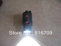 Free Shipping 5 pcs/lot 4 Model M6 Tactical Flashlight and Red Laser LED Bulbs with Box