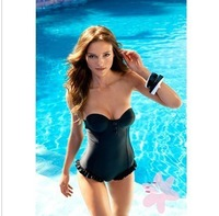 Free shipping Good Quality  One Piece Sexy Hot Swimsuit Skirt  Swimwear Suit For Women Cheap swimwear