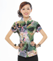 2013 cheongsam top chinese style top women's tang suit fashion women's summer top hs001
