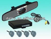 Auto Parking Sensor System 12V LED Display Indicator Car Reverse Radar + 4 PCS Sensors (Many Color Option)