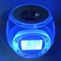 108b radio alarm clock zone heated device colorful lights automatically change color alarm clock radio aromatherapy lamp