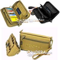 Wallet clutch bag card holder package army accessory bag moll bag cordura