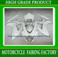 Glossy white ABS plastic bicycle part GSXR600/750 06 07 fiberglass fairing kit GSX R600 R750 2006 2007 SUZUKI K6