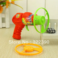 Flying saucer gun tricky toy toys   summer children child small commodities baihuo flying saucer UFO