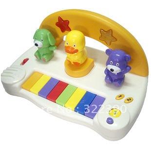 Free shipping! 8628 xiaoqin music toy electronic piano baby toy(China (Mainland))