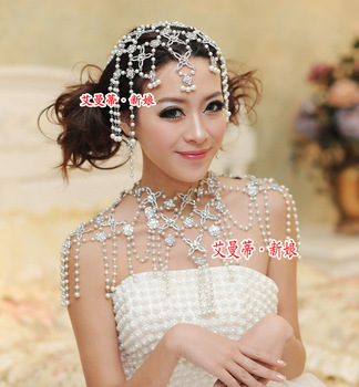 New Collection Epaulet Jacket Jewelry Sets Earrings Necklaces Bride Bridal Wedding Dresses Gown