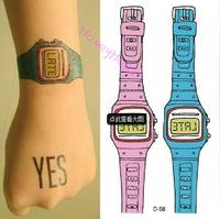 10pcs/ lot Temporary tattoo stickers Temporary body art flash tattoo Waterproof tattoos sex products  #NS0029#