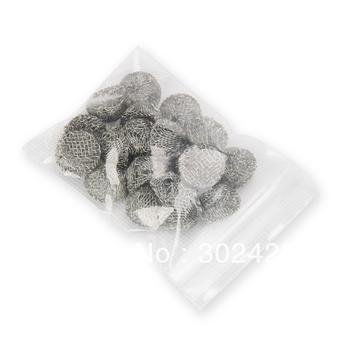 Free shipping!Diameter 16mm smoking pipe filter mesh metal colander tobacco net smoking pipe accessories,100pcs\bag