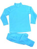 2012 children's autumn and winter clothing set polar fleece fabric thermal underwear twinset baby lounge