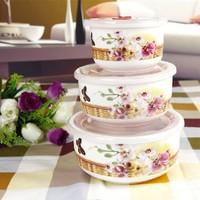Japon Potes Para Alimentos Cooking Pot free Shipping Bowl Ceramic Fresh Piece Set Bone China Storage Box Seal Gift Dinnerware