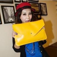 Fashion Women Envelope Clutch Bag Chain Purse Lady Handbag Shoulder Bag Free Shipping
