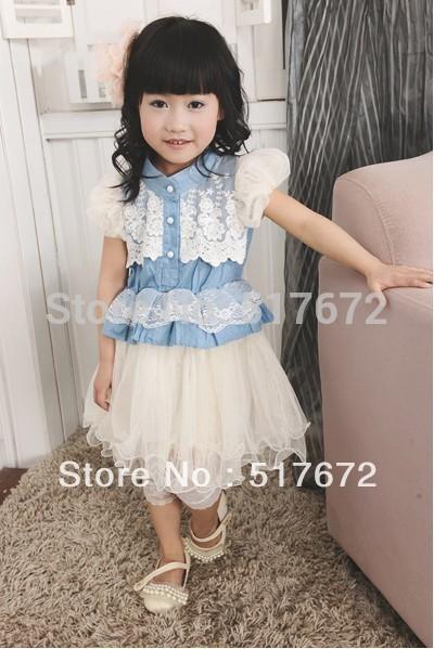 Платье для девочек Other 4pcs/100% 4pcs hgw15ca 100