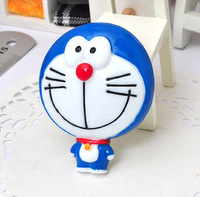 wholesale 2PCS Doraemon dolls flat back resin accessory doll jewelry supplies for cell phone beauty[JCZL DIY Shop]