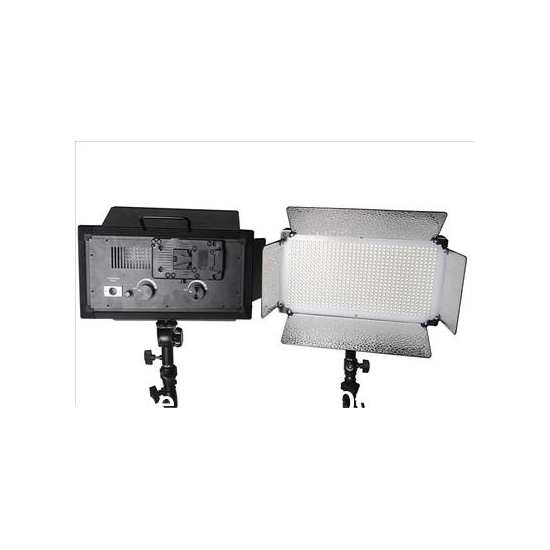 Photography Studio Equipments 2 pcs LED Video Light Camera Sutdio Continuous Light(China (Mainland))