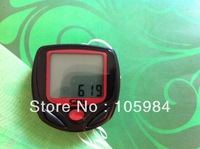 Bike Bicycle Computer  16 Functions Waterproof LCD Display with thermometer  Odometer Speedometer Freeshipping