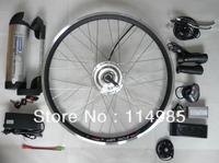 "high power 26"" 250w 36v ebike conversion kit + 36v 8Ahwaterbottle battery + led display"