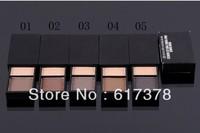 Free shipping 5pcs/lot 2013 new professional make up kit 2 Colors Palette Eye shadow/Eyeshadow