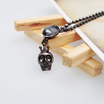 Satellite stone inlay imitation diamond the personalized necklace female sweater chain jewelry 13001NL