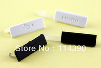 New data charging USB HDMI rubber plug cover for Sony Xperia S LT26 LT26i LT26ii