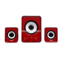 Sada laptop speaker multimedia mini audio 2.1 subwoofer usb