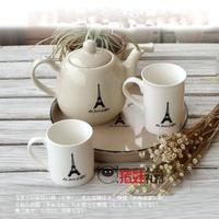 Baby pig gift zakka vintage teapot cold water pot series