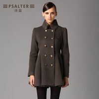 Psalter winter olive overcoat 60681120