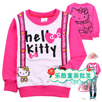 Hello kt 2012 autumn long-sleeve T-shirt 11011 100% cotton sweatshirt t-shirt hot-selling
