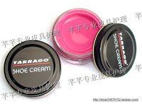 Tarrago 101 rose red glass jar shoe polish leather cream