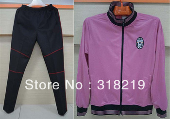 free shipping!2012-2013 Juventus pink soccer jacket,soccer coat,Training jacket