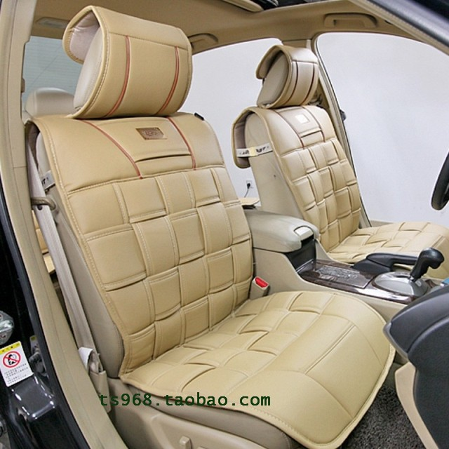 Car seat cushion four seasons PU seatpad leather danny quality passenger car seat summer general(China (Mainland))