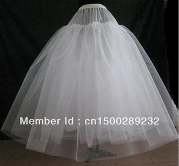 A - line NO - Hoop Net Crinoline/Petticoat/Underskirt/bridesmaid dresses Смотрите ...